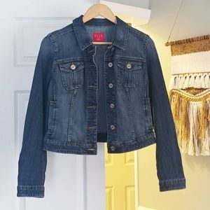 Elle classic Jean jacket sz M